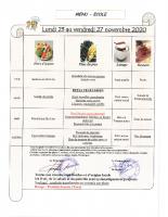 Menu Primaire S48 du 23 au 27 nov. 2020