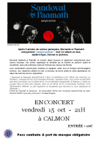 Concert 'Sandoval & Paamath'