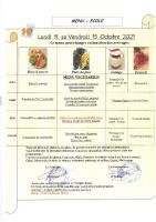 Menu Primaire S41 du 11 au 15 octobre 2021
